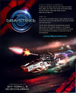 Original Gravstrike.com Static Site Image
